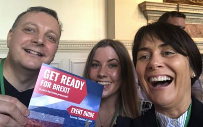 "We went to the ""Get Ready for Brexit"" OIA Forum"