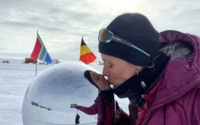 Isoloation?  Try skiing solo to the South Pole like Wendy!