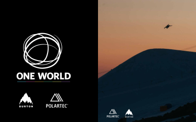 Iconic brand Burton, with Polartec, has created the One World collection using recycled materials