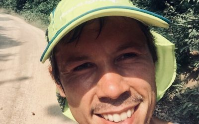 Meet the man who's running 2193 miles in 41 days